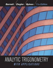 Analytic Trigonometry with Applications av Raymond A. Barnett, Karl E. Byleen og Michael R. Ziegler (Innbundet)