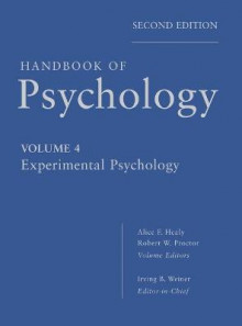 Handbook of Psychology av Irving B. Weiner, Alice F. Healy og Robert W. Proctor (Innbundet)