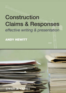 Construction Claims and Responses av Andy Hewitt (Heftet)