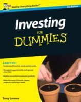 Investing for Dummies, 3rd Edition av Tony Levene (Heftet)