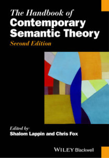 The Handbook of Contemporary Semantic Theory av Shalom Lappin og Chris Fox (Innbundet)