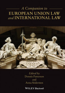 A Companion to European Union Law and International Law av Anna Sodersten (Innbundet)