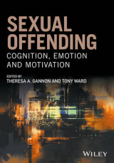 Omslag - Sexual Offending - Cognition, Emotion and Motivation