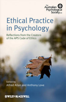 Ethical Practice in Psychology av Alfred Allan og Anthony Love (Heftet)
