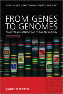 From Genes to Genomes - Concepts and Applications of DNA Technology 3E av Jeremy W. Dale, Malcolm Von Schantz og Nicholas D. Plant (Innbundet)