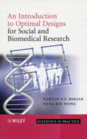 An Introduction to Optimal Designs for Social and Biomedical Research av Martijn P. F. Berger og Weng-Kee Wong (Innbundet)