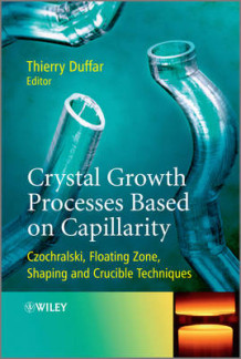Crystal Growth Processes Based on Capillarity (Innbundet)