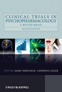 Clinical Trials in Psychopharmacology (Innbundet)