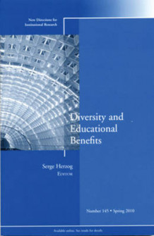 Diversity and Education Benefits av IR (Institutional Research) (Heftet)