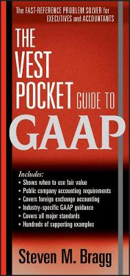 The Vest Pocket Guide to GAAP av Steven M. Bragg (Heftet)