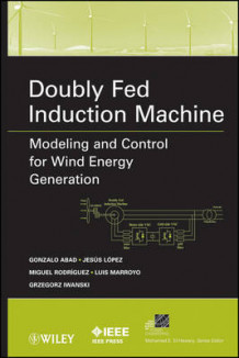 Doubly Fed Induction Machine: Modeling and Control for Wind Energy Generation Applications av Gonzalo Abad, Jesus Lopez, Miguel Rodriguez, Luis Marroyo og Grzegorz Iwanski (Innbundet)
