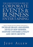 The Executive's Guide to Corporate Events and Business Entertaining av Judy Allen (Innbundet)