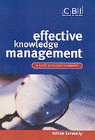 Effective Knowledge Management av Sultan Kermally (Heftet)