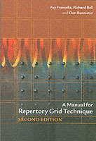 A Manual for Repertory Grid Technique av Fay Fransella, Richard Bell og Don Bannister (Heftet)