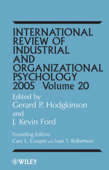 International Review of Industrial and Organizational Psychology 2005 (Innbundet)