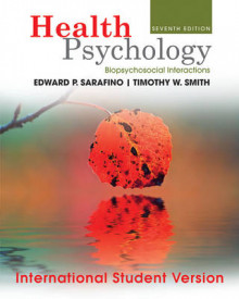 Health Psychology av Edward P. Sarafino (Heftet)