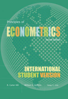 Principles of Econometrics av R. Carter Hill, William E. Griffiths, Mark Andrew Lim og Guay C. Lim (Heftet)