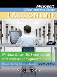 Windows Server 2008 Applications Infrastructure Configuration av Microsoft Official Academic Course (Blandet mediaprodukt)
