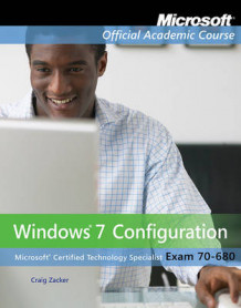 Exam 70-680 av Microsoft Official Academic Course (Heftet)