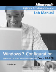 Exam 70-680 Windows 7 Configuration Lab Manual av Microsoft Official Academic Course (Heftet)
