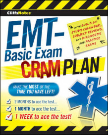 CliffsNotes EMT-Basic Exam Cram Plan av Inc. Northeast Editing (Heftet)