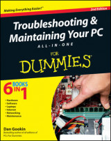 Omslag - Troubleshooting and Maintaining Your PC All-in-One For Dummies