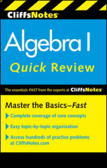 CliffsNotes Algebra I Quick Review av Jerry Bobrow og Edward Kohn (Heftet)