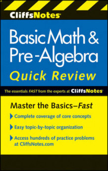 CliffsNotes Basic Math & Pre-algebra Quick Review av Jerry Bobrow (Heftet)