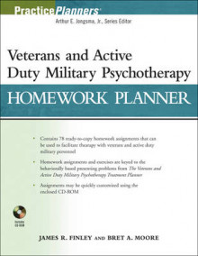 The Veterans and Active Duty Military Psychotherapy Homework Planner av James R. Finley og Bret A. Moore (Heftet)