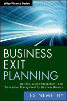 Business Exit Planning av Les Nemethy (Innbundet)