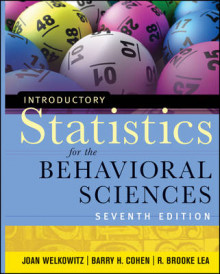 Introductory Statistics for the Behavioral Sciences av Barry H. Cohen, Joan Welkowitz og R. Brooke Lea (Innbundet)