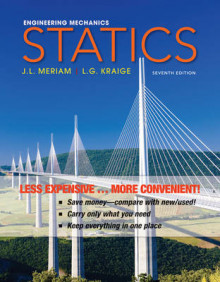Engineering Mechanics: Statics av James L Meriam og L G Kraige (Perm)