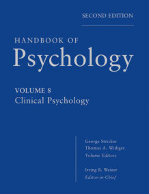 Handbook of Psychology av Irving B. Weiner, George Stricker og Thomas A. Widiger (Innbundet)