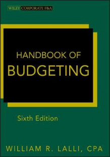 Handbook of Budgeting (Innbundet)