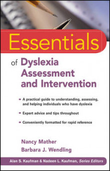 Essentials of Dyslexia Assessment and Intervention av Nancy Mather og Barbara J. Wendling (Heftet)