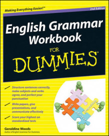 English Grammar Workbook For Dummies av Geraldine Woods (Heftet)