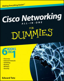 Cisco Networking All-In-One for Dummies (R) av Edward Tetz (Heftet)