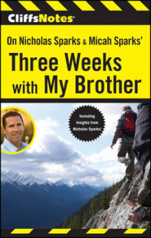 CliffsNotes on Nicholas Sparks & Micah Sparks' Three Weeks with My Brother av Richard P. Wasowski (Heftet)