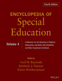 Encyclopedia of Special Education: Volume 4 (Innbundet)