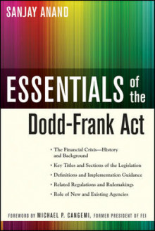 Essentials of the Dodd-Frank Act av Sanjay Anand (Heftet)