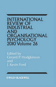 International Review of Industrial and Organizational Psychology 2011 (Innbundet)