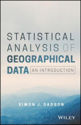 Omslag - Statistical Analysis of Geographical Data
