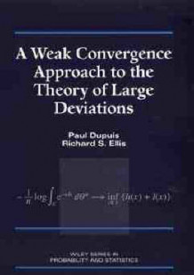 A Weak Convergence Approach to the Theory of Large Deviations av Paul Dupuis og Richard S. Ellis (Innbundet)