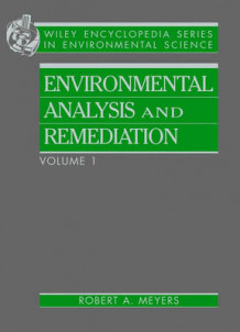 Encyclopedia of Environmental Analysis and Remediation av R.A. Meyers (Innbundet)