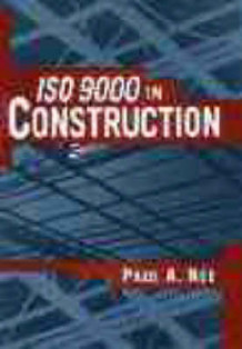 ISO 9000 in Construction av Paul A. Nee (Innbundet)