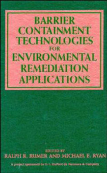 Barrier Containment Technologies for the Environmental Remediation Applications (Innbundet)