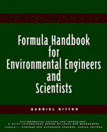 Formula Handbook for Environmental Engineers and Scientists av Gabriel Bitton (Heftet)