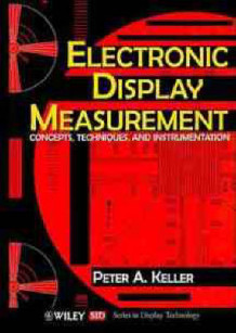 Electronic Display Measurement av Peter A. Keller (Innbundet)