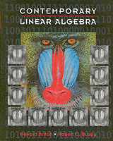 Contemporary Linear Algebra av Howard Anton og Robert C. Busby (Innbundet)