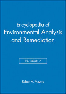 Encyclopedia of Environmental Analysis and Remedia av MEYERS (Innbundet)